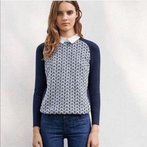 Tory Burch Carmine Crochet Sweater